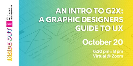 Cancelled: An Introduction to G2X: A Graphic Designers Guide to UX tickets