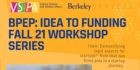 Demystifying legal aspects  for Startups: Roles, costs and more tickets