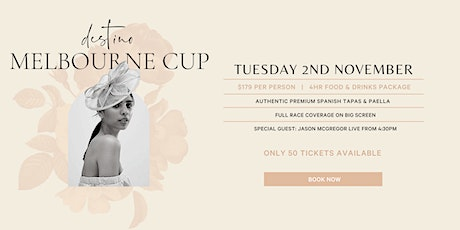Destino 2021 Melbourne Cup Package tickets