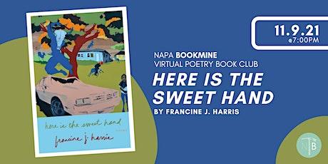 Napa Bookmine November Poetry Book Club tickets