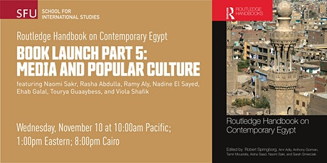 Routledge Handbook on Contemporary Egypt: Media and popular culture tickets