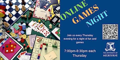 Online Games Night tickets