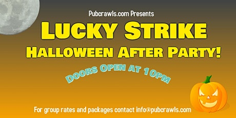 Halloween After Party at Lucky Strike tickets