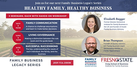 Healthy Family, Healthy Business tickets