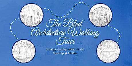 The BLVD Architecture Walking Tour tickets