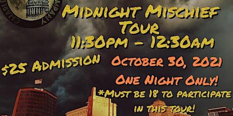 Halloween Midnight Mischief Tour tickets