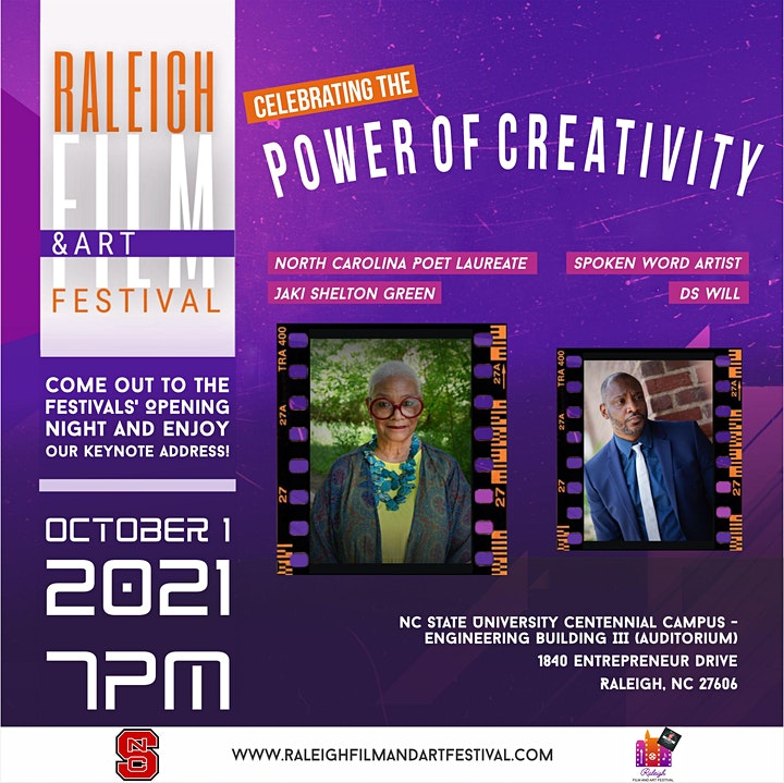 Raleigh Film and Art Festival - The Best Talent of 2021- image