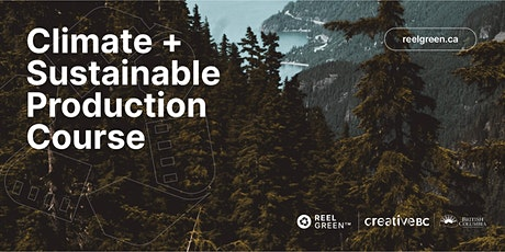 Reel Green Climate and Sustainable Production Training - NOV 10 tickets