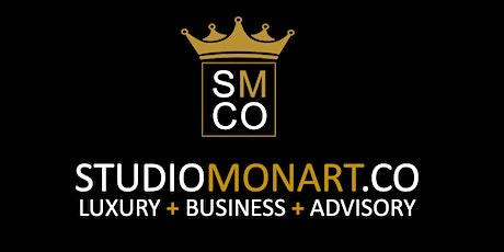 Postponed until 19.10.2021 Studio Monart - Luxury Business Network tickets