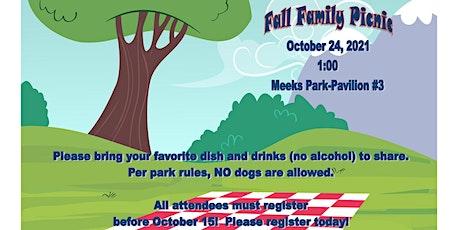 CC101 Fall  Family Picnic tickets