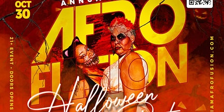 Afrofusion Halloween Party tickets