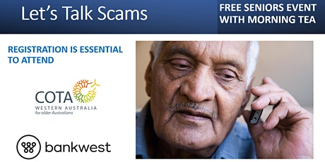 Let's Talk  Scams tickets