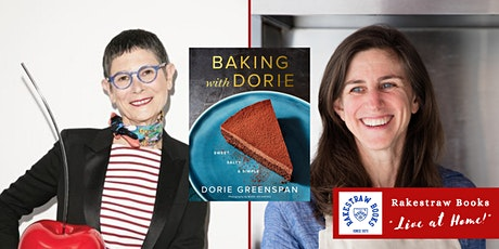 """Rakestraw Books """"Live at Home!"""" with Dorie Greenspan & Leslie Jonath tickets"""