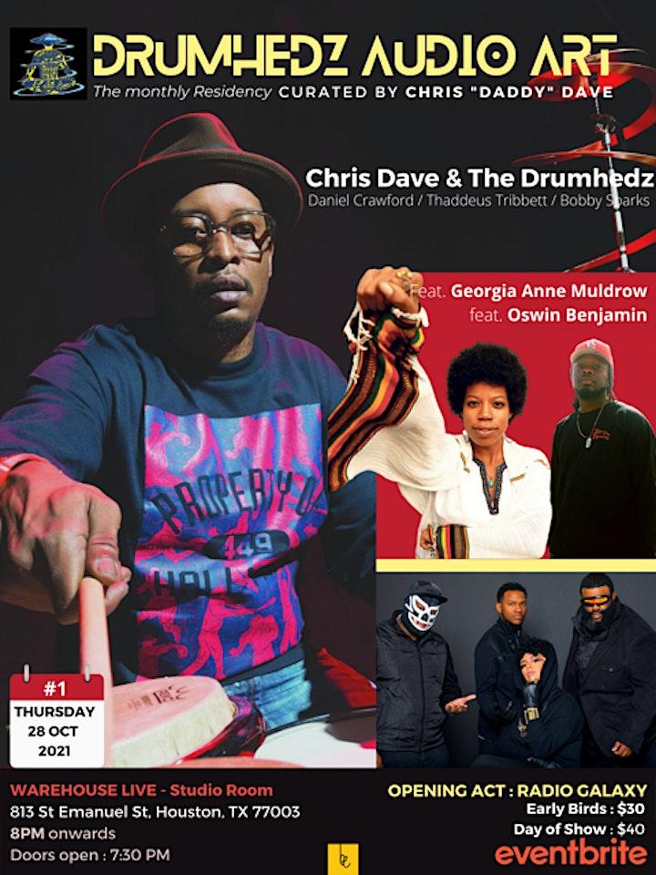CHRIS DAVE & THE DRUMHEDZ image