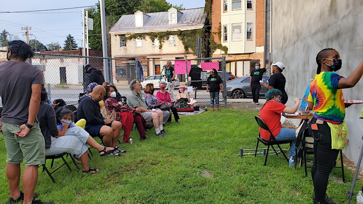 Germantown ArtHaus Community Talk-Back feat. Philly Truce! * OUTDOOR EVENT* image