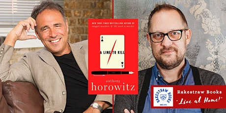 """Rakestraw Books """"Live at Home!"""" with Anthony Horowitz & Peter Swanson tickets"""