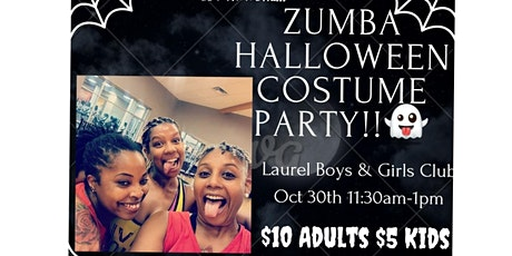 ZUMBA Halloween Costume Party entradas