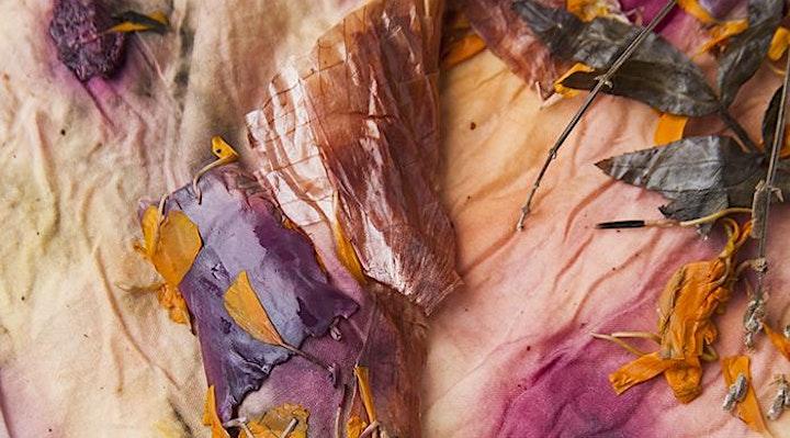 Botanical Bundle Dying & Floral Mist Making image