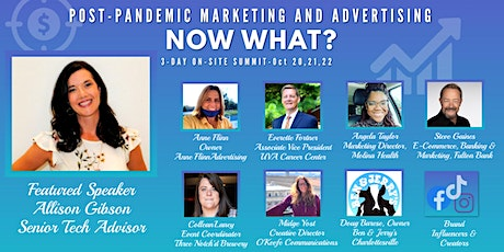 Marketing and Advertising Post-Pandemic : Now What? tickets