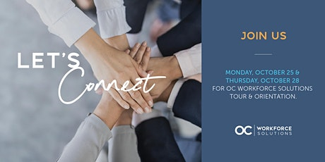 OC Workforce Solutions Open House tickets