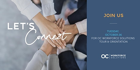 OC Workforce Solutions Community Open House tickets