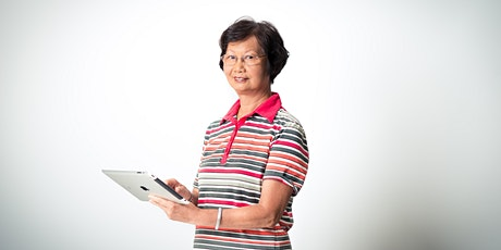 Tech Savvy Seniors : Introduction to Tablets in Mandarin @ Online class tickets