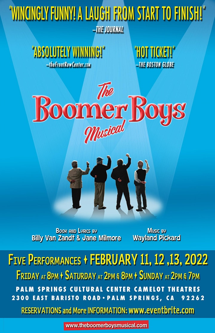 """""""The Boomer Boys Musical"""" image"""