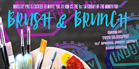 Brush n' Brunch tickets