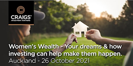 Women's Wealth - Your dreams and how investing can help make them happen tickets
