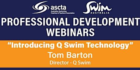 WEBINAR - Tom Barton from Q swim tickets