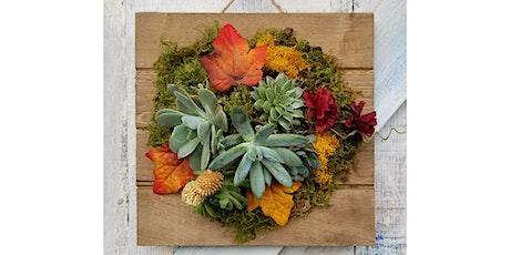 "Lauren Ashton Cellars, Woodinville - ""Fall Succulent Plaque"" tickets"
