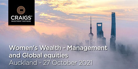Women's Wealth - Management and global equities tickets