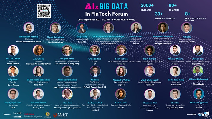 AI & Big Data in FinTech Forum 2021 image