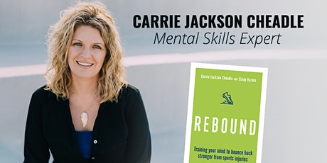Rebound: Train your mind to bounce back stronger from sports injuries tickets
