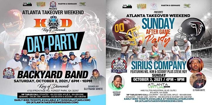 Backyard Band & Sirius Company Atlanta Takeover Weekend (Oct. 2 - 3, 2021) image