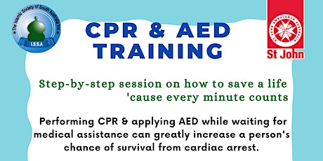 CPR and AED Training by St John Ambulance tickets