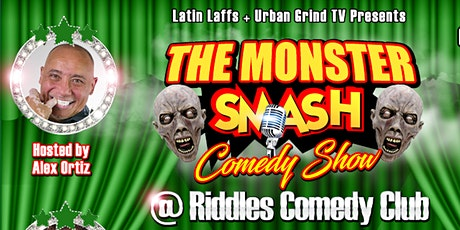 Latin Laffs & Urban Grind TV Presents The Monster Smash Comedy Show tickets