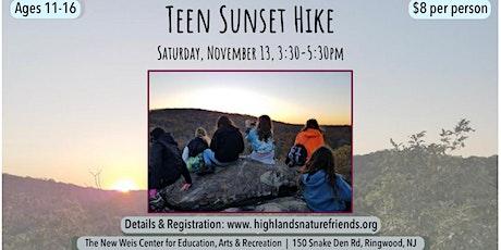 Teen Sunset Hike! tickets