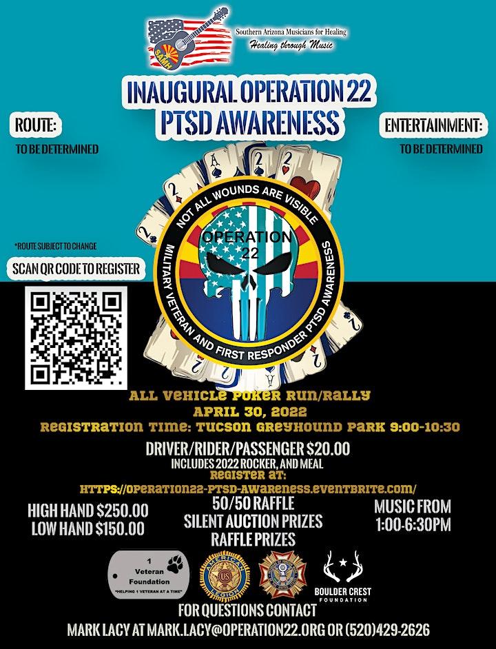 Southern Arizona Operation 22 - PTSD Awareness Poker Run/Rally image