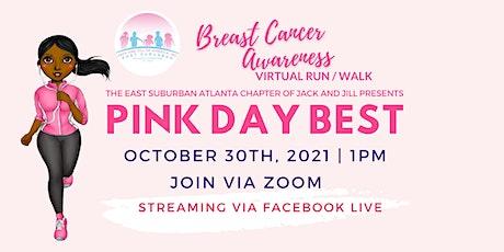Pink Day Best Virtual Breast Cancer Awareness Run/Walk tickets