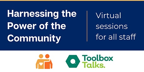 Harnessing the Power of the Community - Virtual sessions for all staff tickets