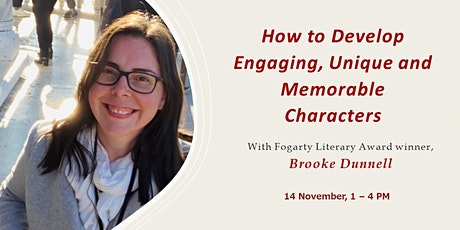 How to Develop Engaging, Unique and Memorable Characters tickets