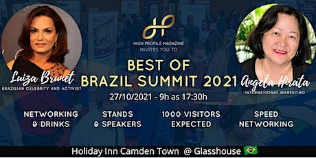 Be an Exibitor at the Best of Brazil Summit tickets