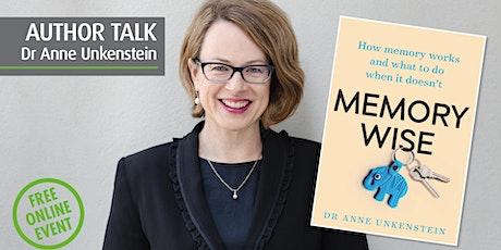 Memory wise with Dr Anne Unkenstein tickets
