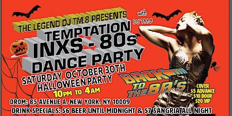DJ TM.8's  Halloween Eve 80s Dance Party @ DROM (Oct 30, 2021) tickets