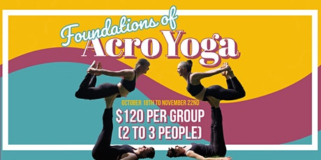Foundations of AcroYoga tickets