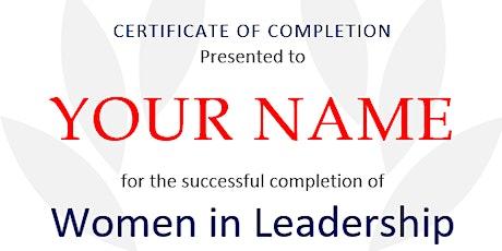 Women in Leadership Seminar tickets