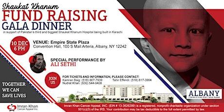Shaukat Khanum Fundraising Gala Dinner in Albany, USA tickets