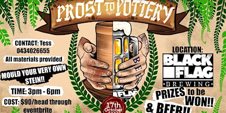 Prost to Pottery tickets