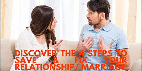 How To Save and Fix your Relationship/Marriage- Boston tickets